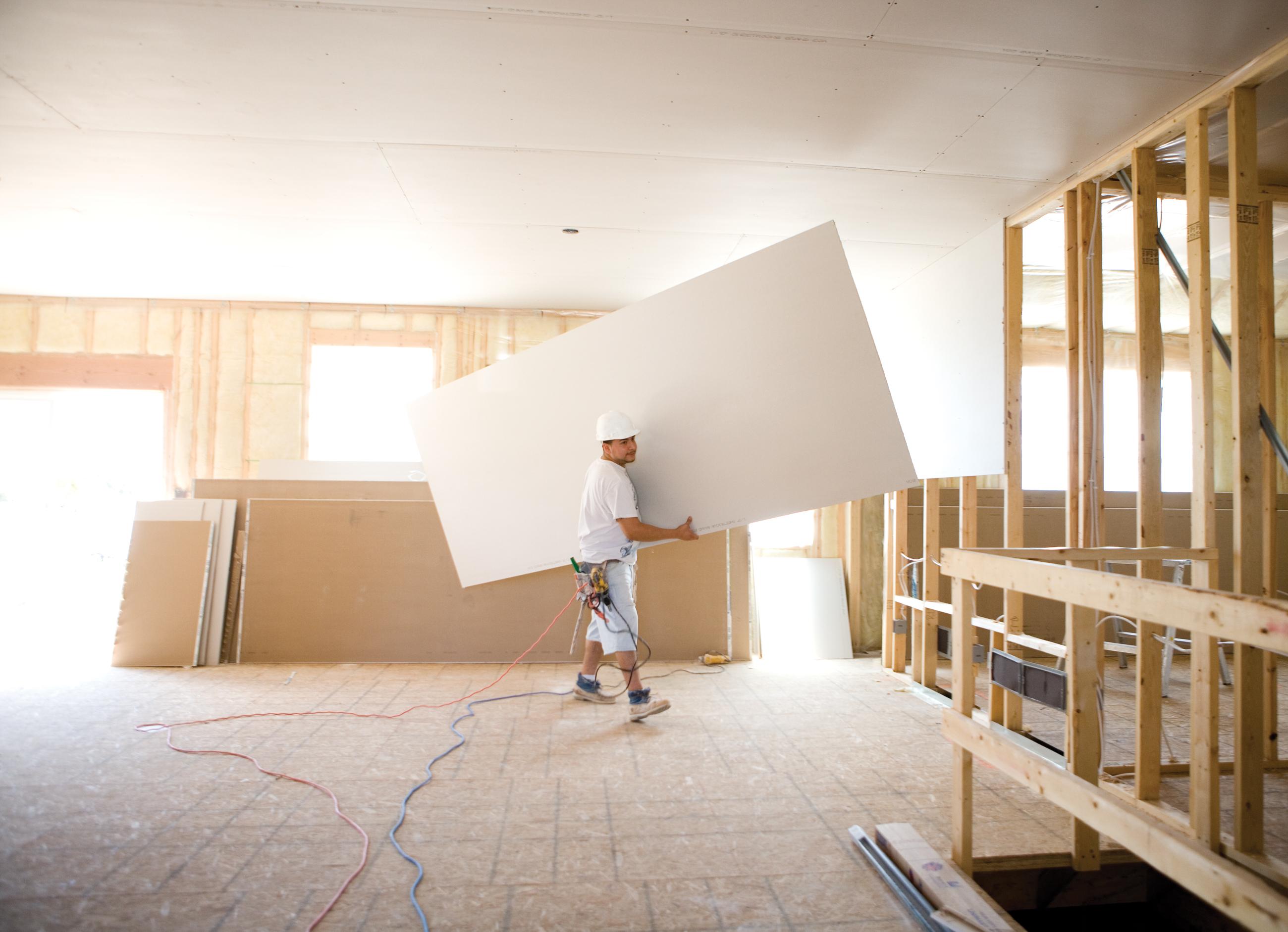 Drywall pre o dicas montagem umidade e valores for Techos de drywall para dormitorios