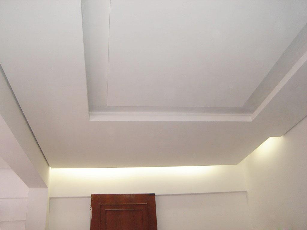 Related Pictures forro gesso acartonado rebaixamento teto parede clasf  #4E251C 1024x768 Banheiro Com Forro De Gesso
